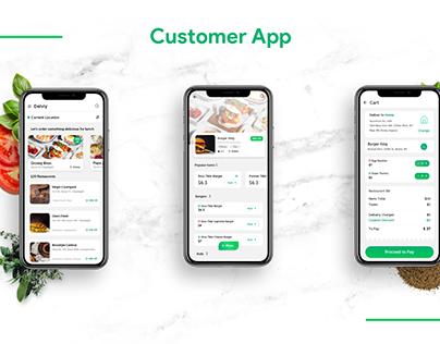 On Demand Restaurant App Design & Development