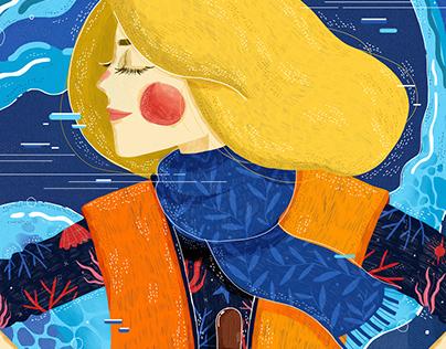 Illustration for Rebel Girls