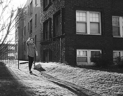 Shots for Evan Slacks upcoming EP -Black and White 35mm