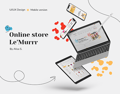 """Online Pet Store """"Le'Murrr"""" - UI/UX Design"""