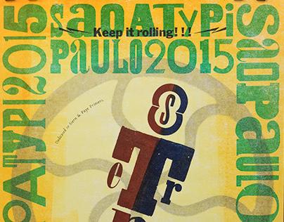 LetterpressReloaded exhibition poster ATypI Conference