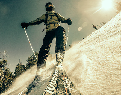 skiing is life