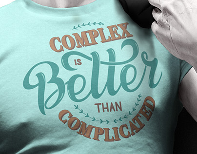 Complex is better than complicated
