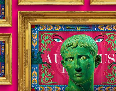 August Bust - Random Creative Artwork