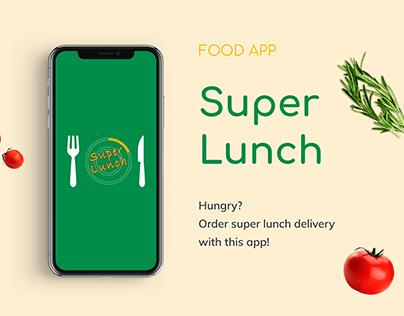 Food app. Super Lunch