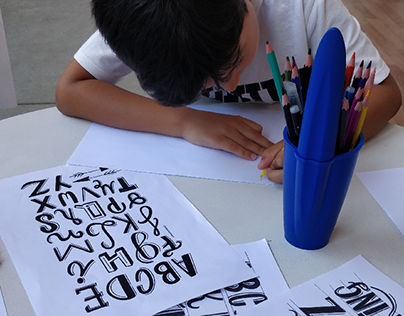 Lettering Workshops for kids | BIC