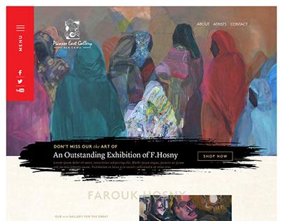 Picasso Art Gallery Website Design