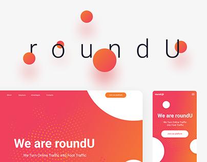 roundU – Website, UI/UX