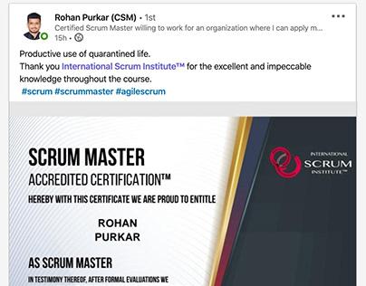 Scrum Institute - Official Certified Scrum Training