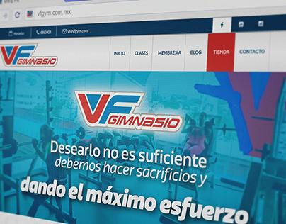 VIVE Fitness GYM Veracruz Website
