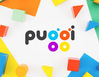 Logo and packaging design PUGGI