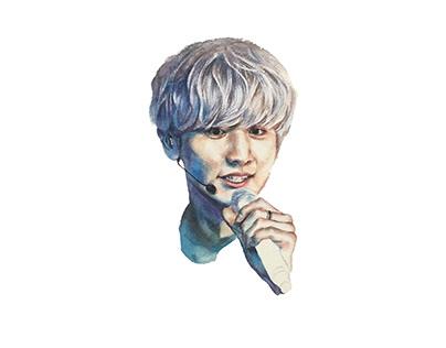 Watercolour Practice (2016) - EXO