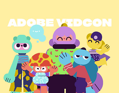Adobe Vidcon - Characters