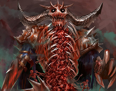 Card Art - The Overlord