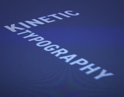 Kinetic Typography 1