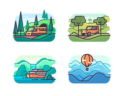 Illustrations | Icons 2015-2017