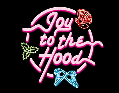 JOY TO THE HOOD (Branding)