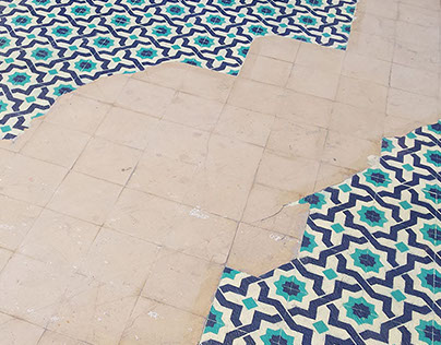 Floors Installation 'Can Vies' Outdoor