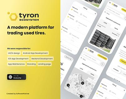 Tyron mobile app
