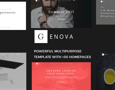 Genova - Creative Multiuse Template
