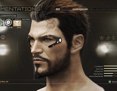Deus Ex Mankind Divided Menus
