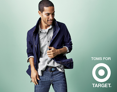 TOMS for Target lookbook (Student Project)