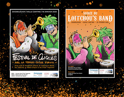 Loitchou's Band 2020 - Affiches