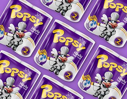 Popsy Havlu Kağıtla