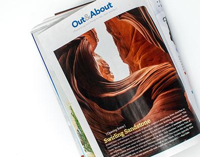 Antelope Canyon Page, AZ Featured on Westways Magazine
