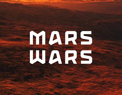 Mars Wars — Free Font