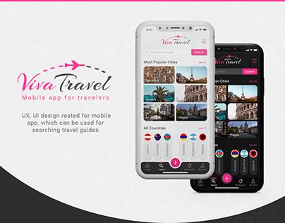 Beautiful Travel App White/Black