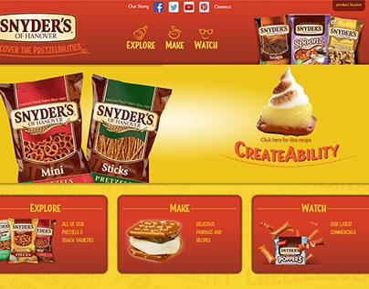 Snyder's of Hanover Website (COPY)