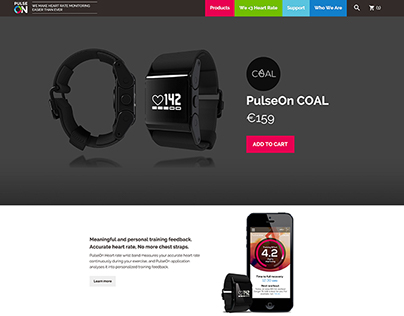 PulseON Web Development