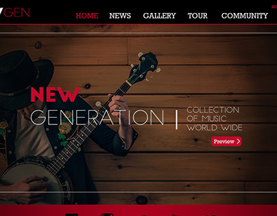 New|Gen Website