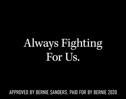 Bernie Sanders — Consistency