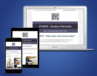 Responsive Newsletter - IPTEC EnsinoIP