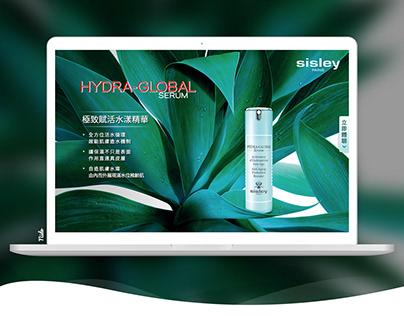 [ Sisley Paris ] 產品體驗活動網站