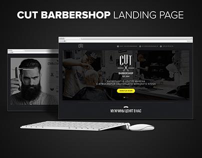 Cut Barbershop - Landing Page