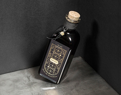 Dark Spirit Liquor – Packaging