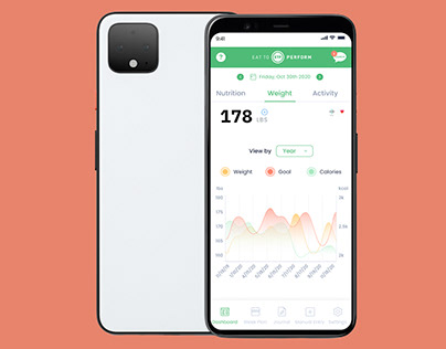 Eat to Perform Health and Fitness Mobile App