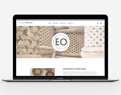 Earthen Origins Shopify Website