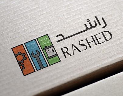 RASHED Logo Design