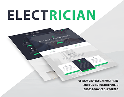 ELECTRICIAN Wordpress Website