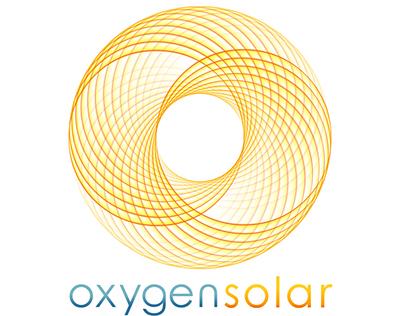Oxygen Solar Logo Design And Process Presentation