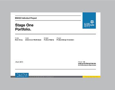 DM402 PDI   Individual Project Folio 2018-19