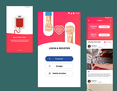 Bhero. blood donation app