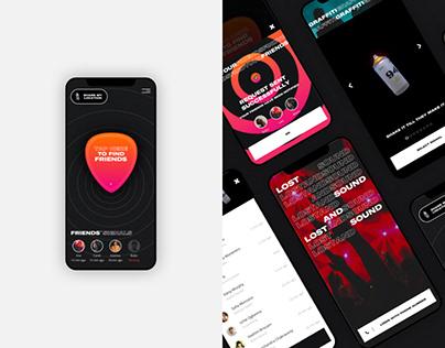 Lost & Sound App - Seat