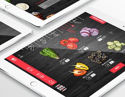 Subwich - Sandwich Ordering Kiosk App