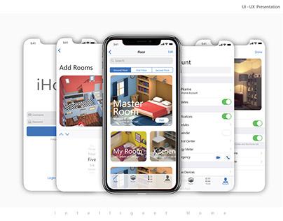 iHome   iOS 11   iphone X   App Presentation
