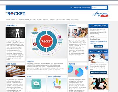 Singapore Post DMRocket Online Content